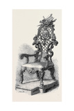Garrick's Shakspeare Chair Giclee Print by William Hogarth