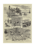 The Experiences of an Amateur Diver Giclee Print by William Ralston