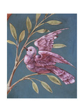 Bird and Branch Giclee Print by William de Morgan