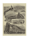 Sketches at Gibraltar Giclee Print by William Henry James Boot