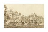 View of Part of the City of Benares Giclee Print by William Hodges