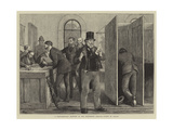 A Parliamentary Election in the Nineteenth Century, Voting by Ballot Giclee Print by William III Bromley