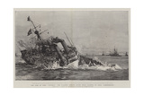 The Loss of HMS Victoria, the Flagship Sinking after Being Rammed by HMS Camperdown Giclee Print by William Lionel Wyllie