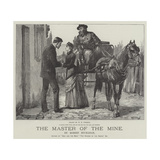 The Master of the Mine Giclee Print by William Heysham Overend