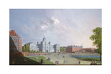 The Horse Guards Parade, Westminster, 18th Century Giclee Print by William James
