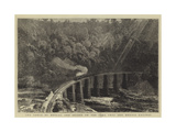 The Gorge of Metlac, and Bridge on the Vera Cruz and Mexico Railway Giclee Print by William Henry James Boot