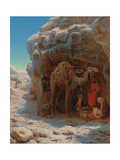 The Shadow of a Rock Giclee Print by William J. Webbe