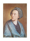 Portrait of Alexander Pope (1688-1744), C.1739-84 Giclee Print by William Hoare