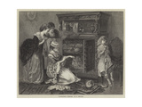 Grandmother's Treasures Giclee Print by William Holyoake