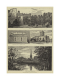 Leicester Illustrated Giclee Print by William Henry James Boot