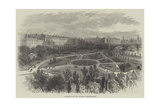 Gardens on the Thames Embankment Giclee Print by William Henry Pike