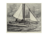 The Duplex Catamaran Giclee Print by William Heysham Overend