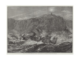 Wreck of HMS Wasp at Tory Island, Donegal Giclee Print by William Heysham Overend