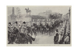 The Colonial Procession Passing Through Trafalgar Square Giclee Print by William Heysham Overend