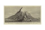 The Pyramid of Meydoon, Opened by Professor Maspero, 13 December 1881 Giclee Print by William Henry James Boot