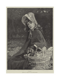 Chickens Giclee Print by William Hippon Gadsby