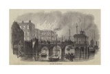 The Fire at Gravesend Giclee Print by William Henry Pike