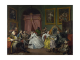 Marriage a La Mode: IV, the Toilette, C.1743 Giclee Print by William Hogarth