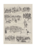Military Sports, a Gymkhana in Barbadoes Giclee Print by William Ralston