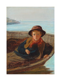 The Fisher Boy, 1870 Giclee Print by William McTaggart