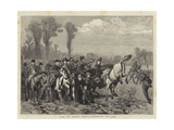 With the Queen's Hounds, Uncarting the Stag Giclee Print by William III Bromley