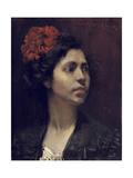 Spanish Girl Giclee Print by William Merritt Chase