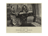 Thirlby Hall Giclee Print by William Small
