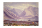 Grouse Shooting on the Moor Near Dalmally Giclee Print by William Turner