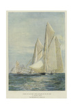 A Yacht Race Giclee Print by William Lionel Wyllie