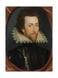 Portrait of Grey Brydges, Fifth Baron Chandos of Sudeley (C. 1581-1621) C.1615 Giclee Print by William Larkin