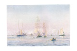 Portsmouth Harbour 1912, 1915 Giclee Print by William Lionel Wyllie