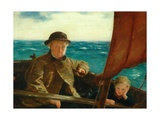 Father Is at the Helm, 1889 Giclee Print by William McTaggart