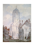 Christ Church, Oxford, 1795 Giclee Print by William Turner