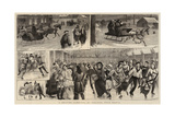 A Skating Carnival at Halifax, Nova Scotia Giclee Print by William Ralston