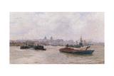 Greenwich Hospital Giclee Print by William Lionel Wyllie