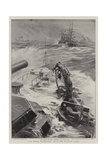 The Naval Manoeuvres, with the Reserve Fleet Giclee Print by William Lionel Wyllie