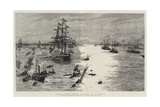 The Jubilee Naval Review at Spithead Giclee Print by William Lionel Wyllie