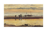 Towards Sunset, Boulogne Sands, 1873 Giclee Print by William Lionel Wyllie