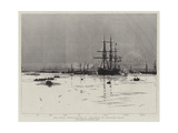 The Naval Mobilisation, B Squadron in Portland Roads Wydruk giclee autor William Lionel Wyllie