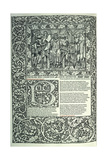 Scene from 'Troilus and Criseyde' Giclee Print by William Morris
