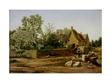 View of Marston, Near Oxford Giclee Print by William Turner