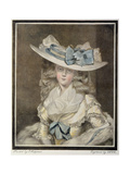 Portrait of Mrs. Benwell Giclee Print by William Ward