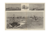 Sketches at the Naval Review Giclee Print by William Lionel Wyllie