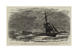 A Story of the Sea, the British Ship Northbrook the Day after a Gale, 4 March 1885, Near Cape Horn Giclee Print by William Lionel Wyllie