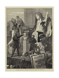 Rome, Funeral Oration over the Bust of Mazzini Giclee Print by William III Bromley