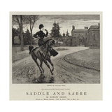 Saddle and Sabre Giclee Print by William Small