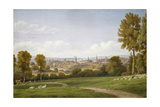 View of Oxford from Headington Giclee Print by William Turner