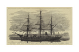 The Eira Arctic Relief Expedition under Captain Sir Allen Young, the Exploring Steam Vessel Hope Giclee Print by William Lionel Wyllie