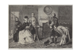 Honeywood Introducing the Bailiffs to Miss Richland as His Friends Giclee Print by William Powell Frith