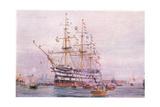 Trafalgar Anniversary, 1915 Giclee Print by William Lionel Wyllie